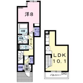 モスアゲート 1階の間取り